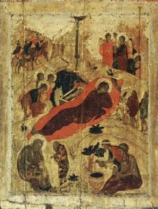 Рождество Христово Андрей Рублëв