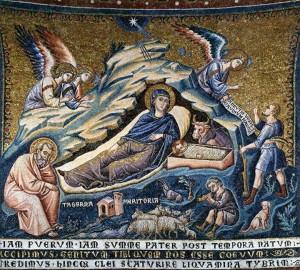 Коледа мозайка